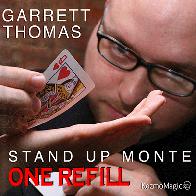 Refill for Stand Up Monte by Garrett Thomas & Kozmomagic - Tricks