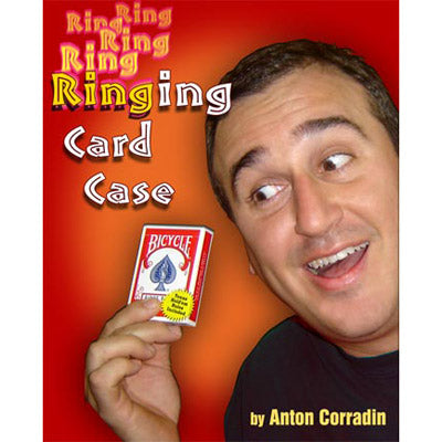 Ringing Card Case by Anton Corradin - Trick