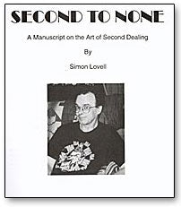 Second to None book Simon Lovell