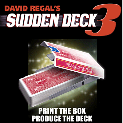 Sudden Deck 3 (red) by David Regal - Trick