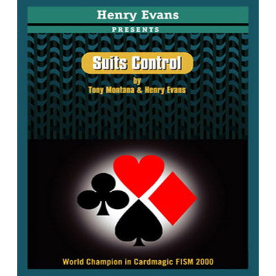 Suits Control (RED) by Henry Evans - Trick