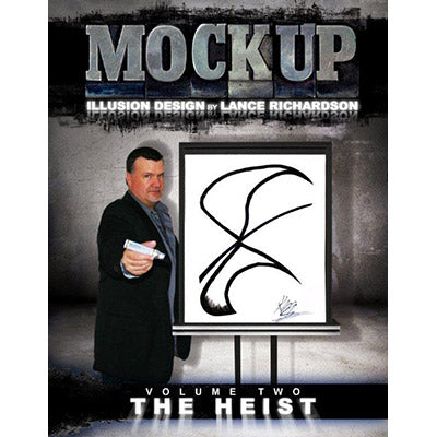 THE HEIST vol. 2 ( MOCKUP )by Lance Richardson - Book