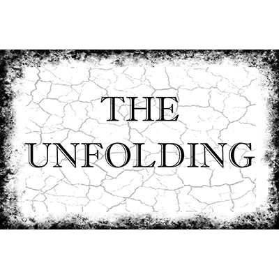 The Unfolding by Paul Carnazzo - book (with gimmicks)