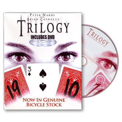 Trilogy Bicycles by Brian Caswells and Alakazam Magic - Tricks