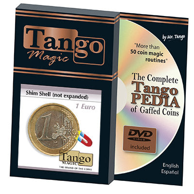 Shim Shell (1 Euro Coin NOT EXPANDED w/DVD) by Tango-(E0072)