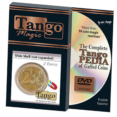 Shim Shell (2 Euro Coin NOT EXPANDED w/DVD) by Tango-(E0071)