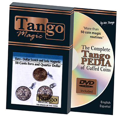 Euro-Dollar Scotch and Soda Magnetic (w/DVD) by Tango-Trick (ED002)