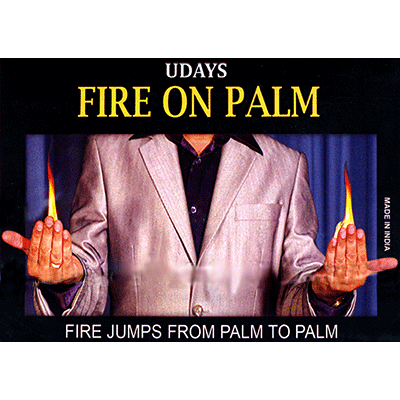 Fire on Palm by Uday - Trick
