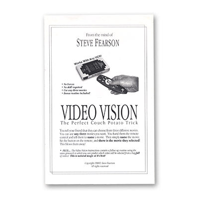 Video Vision by Steve Feason - Trick