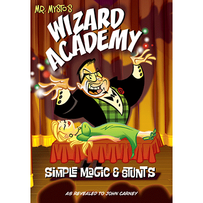 Wizard Academy by Mr. Mysto and John Carney - Book