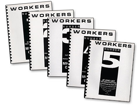 Workers Number 3 by Mike Close - Book