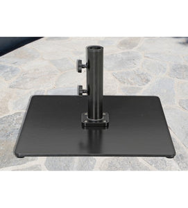 Galtech 85 LBS Square Commercial Umbrella Base- black