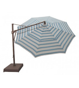 11' Octagon Cantilever Umbrella with stand