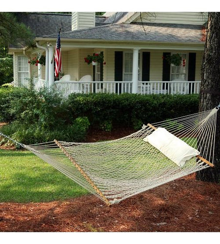 Pawleys Island Deluxe Cotton Rope Hammock
