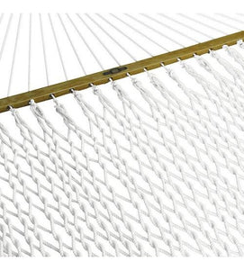 Pawleys Island Single Original Cotton Rope Hammock With Cotton Rope