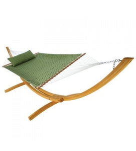 Large Soft Weave Hammock - Light Green