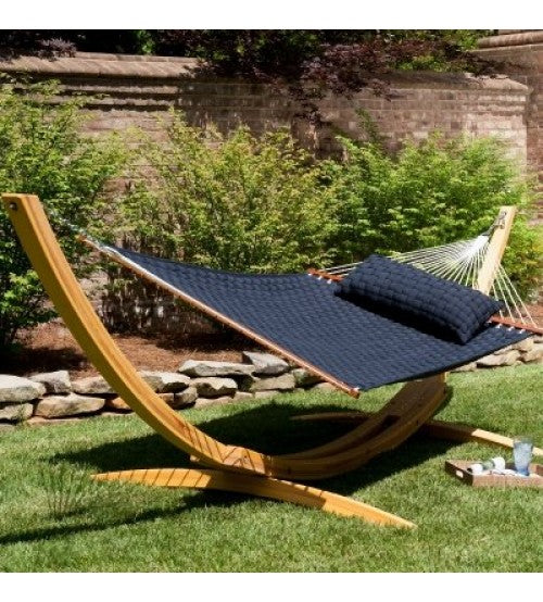Roman Arc Cypress Hammock Stand The Patio Galaxy