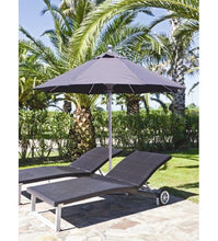 Galtech 722 - 7.5 FT Commercial Patio Black Umbrella