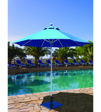 Galtech 722 - 7.5 FT Commercial Patio Sky Blue Umbrella