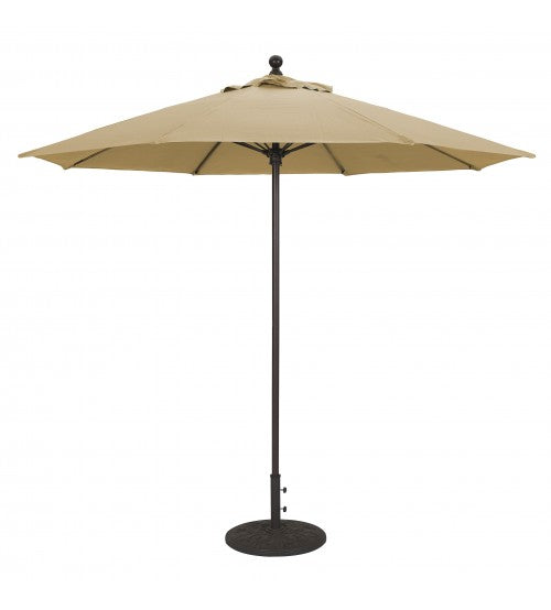Galtech 735   9 FT Commercial Patio Umbrella Fiberglass Ribs