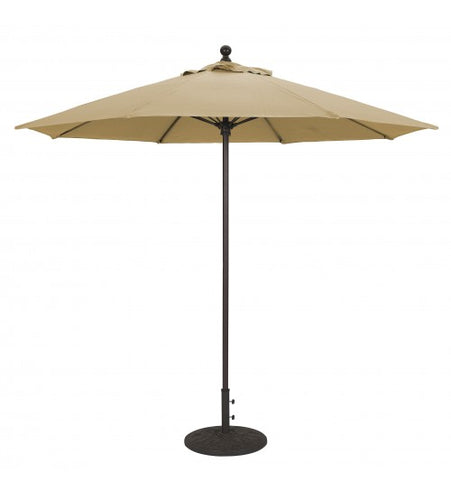 Galtech 9 FT Commercial Patio Umbrella Fiberglass Ribs