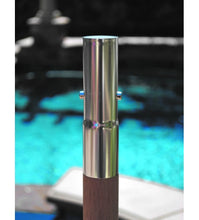 Galtech 537 - 9 FT Teak Market Umbrella Pole