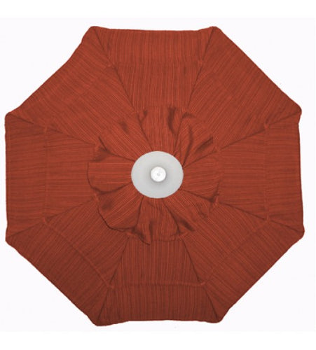 GALTECH UMBRELLA - 9' Replacement  Cardinal Red Umbrella Cover