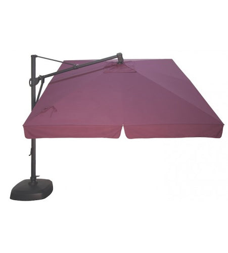 10' Square Cantilever Umbrella Replacement Canopy - Sunbrella