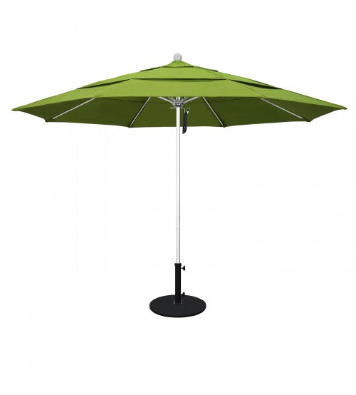 VENTURE SERIES 11' ROUND FIBERGLASS COMMERCIAL GRADE PALM COLOR UMBRELLA