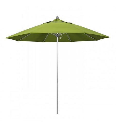 Venture Series 9' Round Fiberglass Commercial Grade Green Umbrella