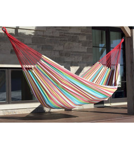 Brazilian Style Hammock - Salsa - Double with Zippered carrying bag