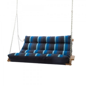 Deluxe Cushioned Double Swing - Gateway Indigo