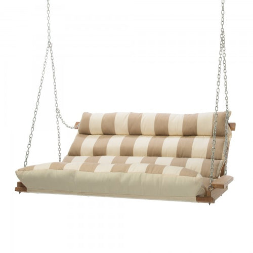 Deluxe Cushioned Double Swing - Regency Sand