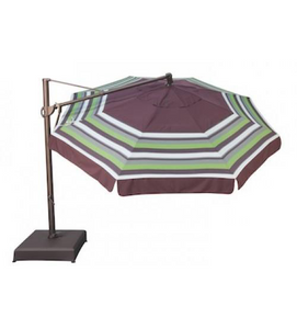 Treasure Garden 11' Octagon Cantilever Replacement Cover - Sunbrella