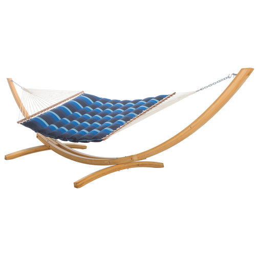 Pillowtop Hammock - Sunbrella Gateway Indigo
