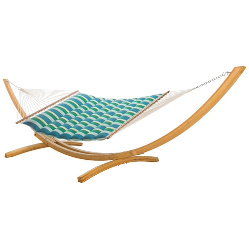 Pillowtop Hammock - Sunbrella Gateway Tropic