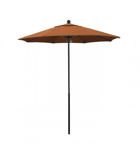 7.5' Round All Fiberglass Tuscan Color Umbrella