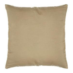 "Sunbrella 24""X24"" Square Designer Pillow - Spectrum Sand"