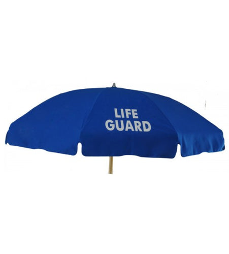 Fiberglass Commercial 7.5' Navy Blue Umbrella