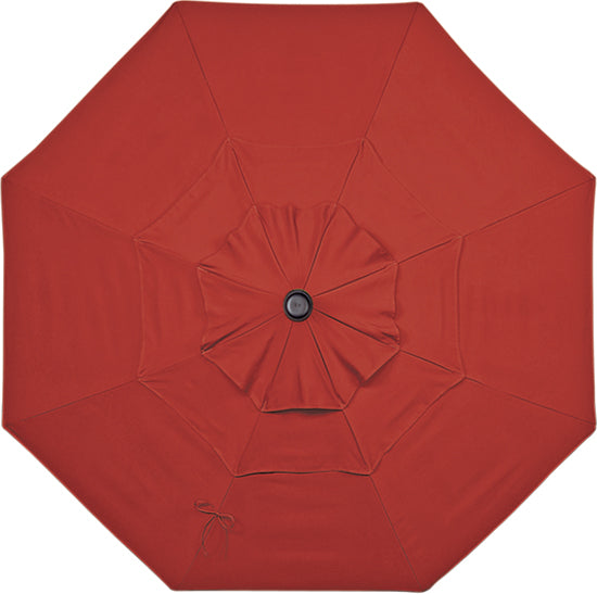 Treasure Garden 11' Replacement Umbrella Canopy With Double Wind Vent