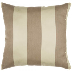 "Sunbrella 24""X24"" Square Throw Pillow - Regency Sand"