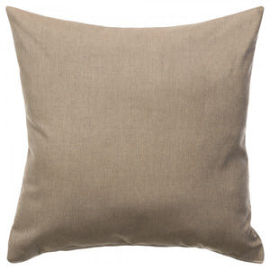 "Sunbrella 18""X18"" Square Throw Pillow - Cast Shale"