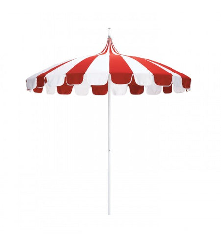Pagoda 8.5' Umbrella - Sunbrella Tuscan / Natural