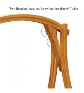 Roman Arc® - Cypress Swing Stand With Two Hanging Location