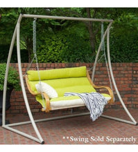 Taupe Steel Double Swing Stand
