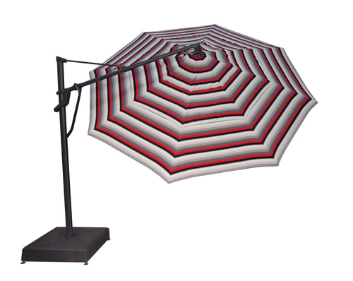 Treasure Garden 11' Octagon Cantilever Umbrella - AKZ PLUS- Sunbrella
