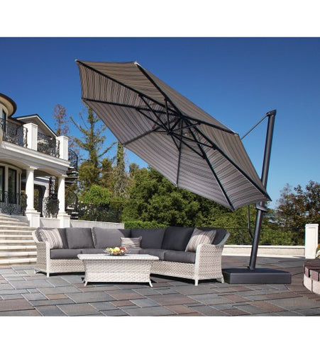 Treasure Garden 13' AKZ PLUS Octagon Cantilever Umbrella - Quick Ship