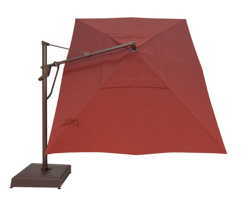 Treasure Garden 10' X 13' AKZPRT PLUS Cantilever Umbrella - O'bravia Fabric (Polyester)