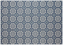 Outdoor Rug By Treasure Garden - Meridian - Steel Blue