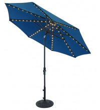 9' Starlight Collar Tilt Octagon Umbrella